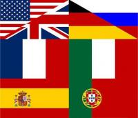 National flags collage - click for full size image